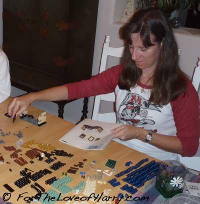 Me Building a Harry Potter LEGO® set