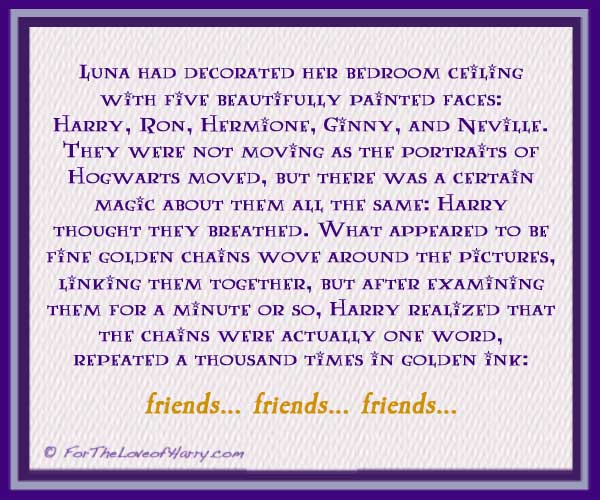 Friends Friends Friends by Luna Lovegood