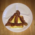 Eggs and Bacon Deathly Hallows