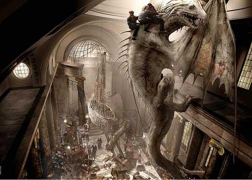Escape on the Dragon