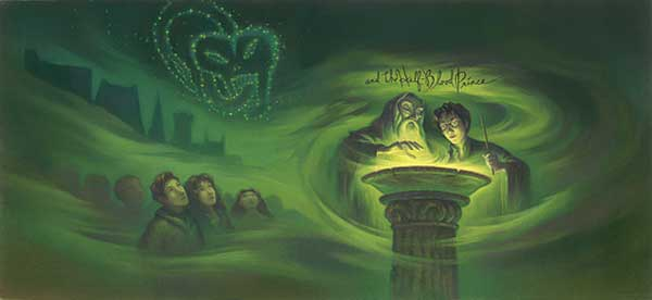 Harry Potter and the Half-Blood Prince Cover Art