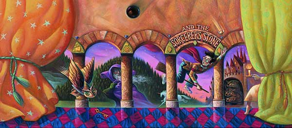 Harry Potter and the Sorcerer's Stone Cover Art