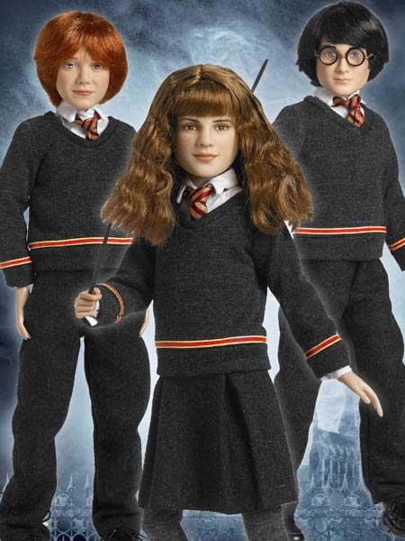 Hogwarts Trio Tonner Dolls