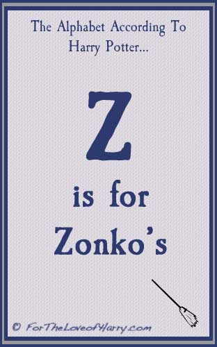 Z is for Zonkos