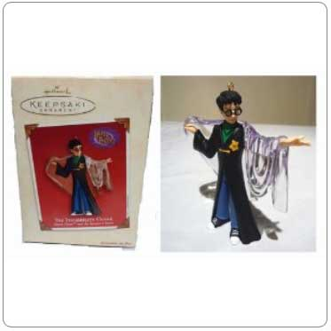 2002 The Invisibility Cloak Ornament