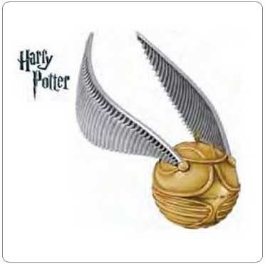 2011 Golden Snitch Ornament