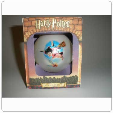 Kurt Adler Harry Potter Playing Quidditch Ball Ornament