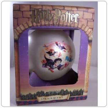 Kurt Adler Harry Potter and the Flying Keys Ball Ornament
