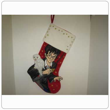 Kurt Adler Harry Potter with Hedwig Stocking