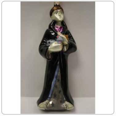 Kurt Adler Polonaise Glass Ron Weasley Ornament