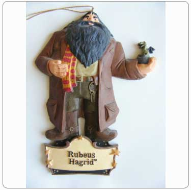 Kurt Adler Resin Hagrid and Norbert Ornament