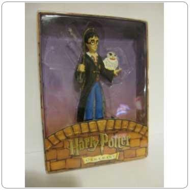 Kurt Adler Resin Harry Potter and Hedwig Ornament