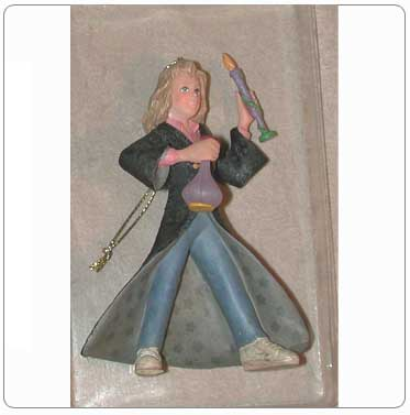 Kurt Adler Resin Hermione Granger Ornament #2