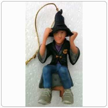 Kurt Adler Resin Ron Weasley Ornament with Sorting Hat