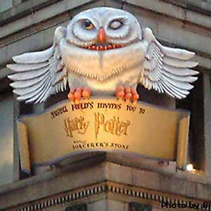 Harry Potter Display at Marshall Field's from 2000