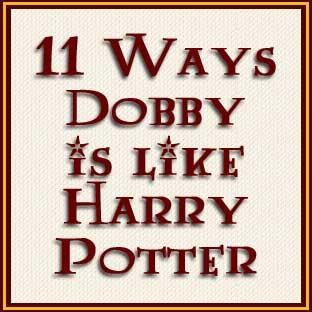 11 Ways Dobby Is Like Harry Potter