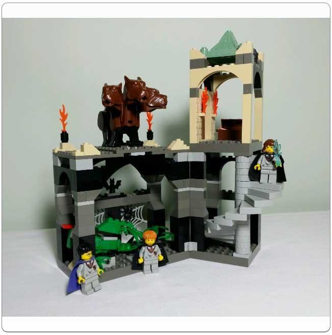 Lego Set 4706 - Forbidden Corridor