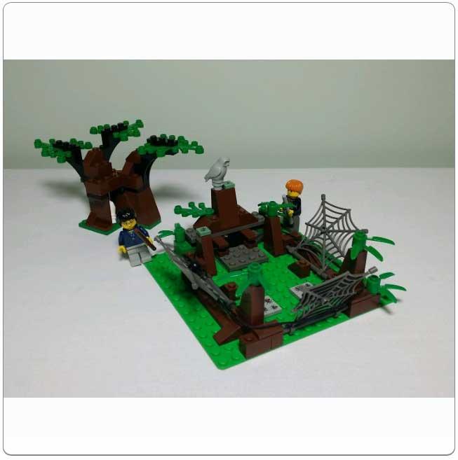 Lego Set 4727 - Aragog in the Dark Forest