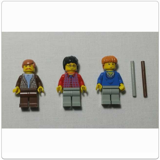 Lego Set 4728 - Escape from Privet Drive