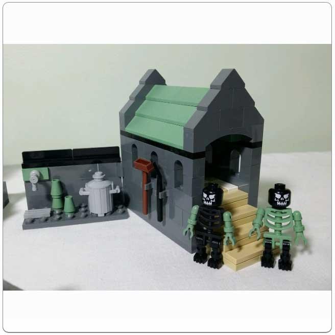 LEGO® Set 4766 – Graveyard Duel