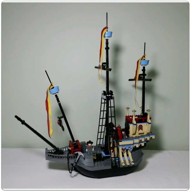 LEGO® Set 4768 – The Durmstrang Ship