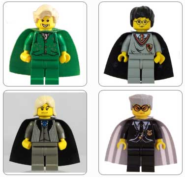 Lego Set HPG01 - Harry Potter Gallery 1