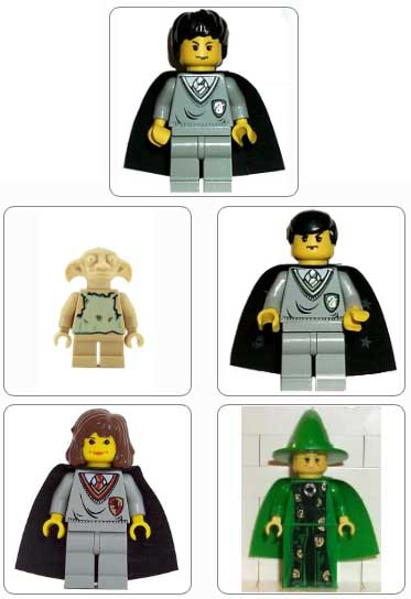 Lego Set HPG04 - Harry Potter Gallery 4