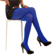Blue Tights for Luna Lovegood Costume
