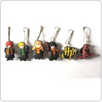 Harry Potter Zipper Pull Charm