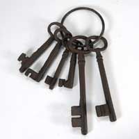Keys for Hagrid Costume