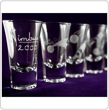 Quidditch Set of Harry Potter Shot Glasses