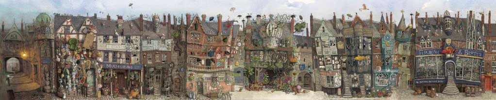 Jim Kay's Illustrated Diagon Alley