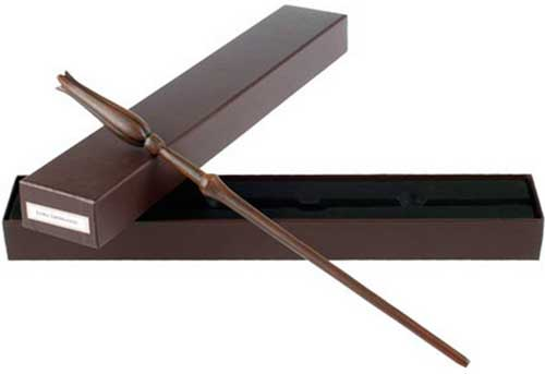 Luna Lovegood's Wand with an Ollivanders Box