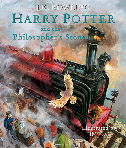The Illustrated Edition of Harry Potter and the Philosopher's Stone