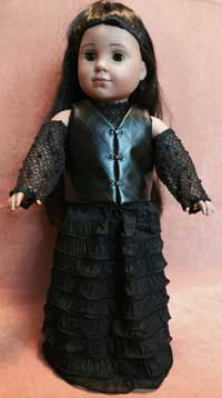 American Girl Doll Bellatrix Dress