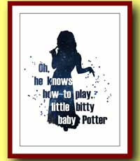 Bellatrix Lestrange Picture - Oh He Knows How To Play