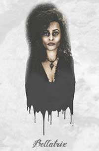 Bellatrix Lestrange Wall Art Poster