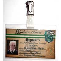 Draco Malfoy Hogwarts Student ID Badge