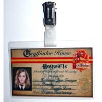 Hermione Granger Student ID Badge