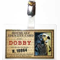 House Elf ID Badge