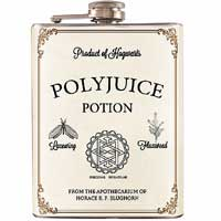 Metal Polyjuice Potion Flask