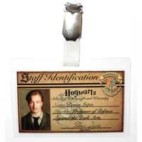 Remus Lupin Hogwarts ID Badge