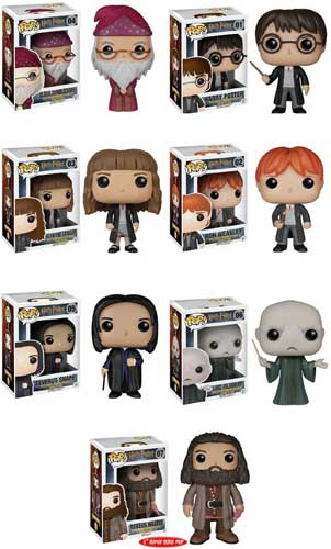 Complete Set of 7 Harry Potter Funko Pop Figures