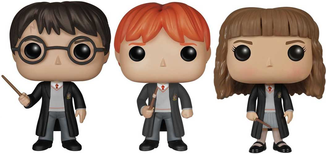Harry Hermione Ron Funko Pop Figure 3 Pack