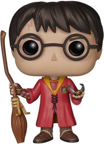 Harry Potter in Quidditch Robe Funko Pop Figure