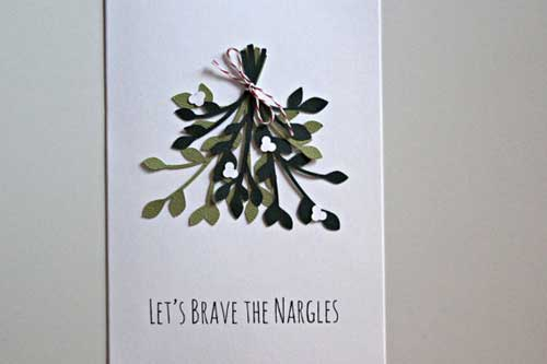 Let's Brave the Nargles Card by AJoyfulGreeting