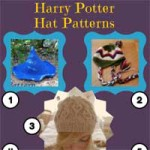 Knitting Patterns for Harry Potter Hats