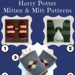 Knitting Patterns for Harry Potter Mittens
