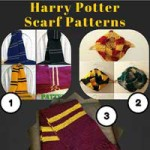 Knitting Patterns for Harry Potter Scarves