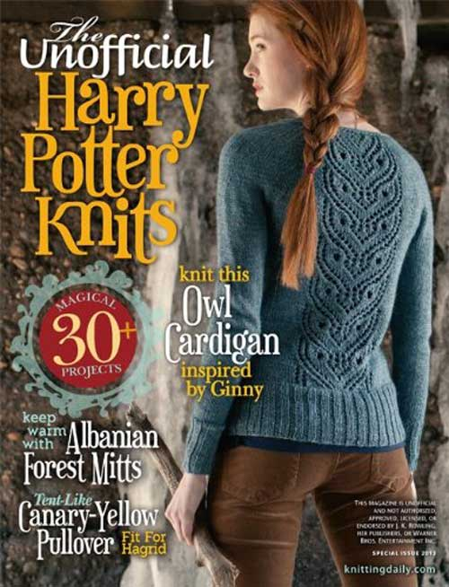Magazine from 2013 that contains over 30 magical patterns